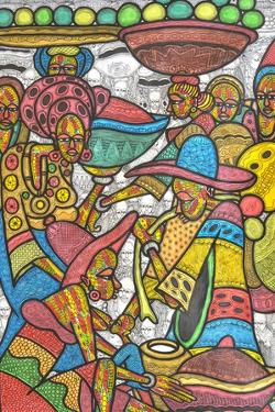 Calabash Market by Muktair Oladoja