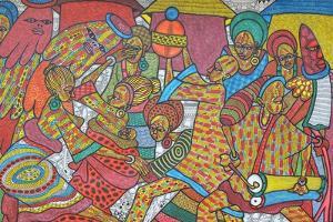 Festival, 2014 by Muktair Oladoja