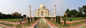 Taj Mahal Panorama, Agra by Mukul Banerjee Photography