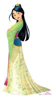 Mulan - Disney Princess Friendship Adventures Lifesize Standup