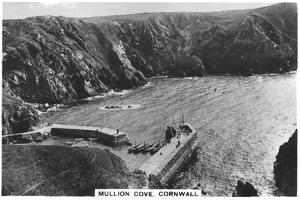 Mullion Cove, Cornwall, 1936