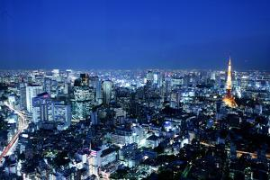 Night View in Tokyo by Multi-bits