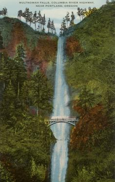 Multnomah Falls, Columbia River, Oregon