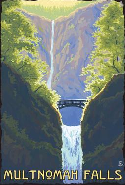 Multnomah Falls, Oregon - Maiden Of The Falls