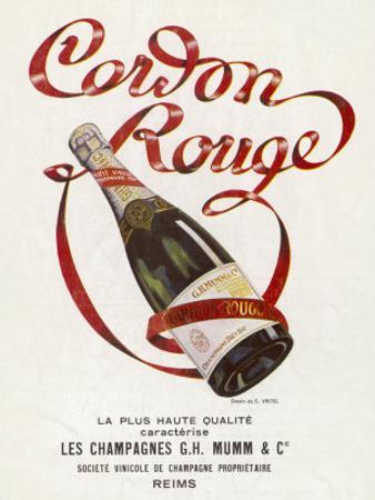 Mumm's Cordon Rouge Champagne