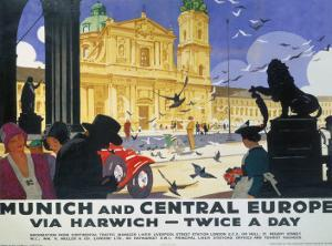Munich and Central Europe, LNER, c.1929