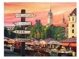 Munich - Viktualienmarkt by M Bleichner