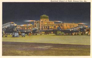Municipal Airport, Kansas City, Missouri