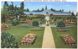 Municipal Greenhouses, Spokane, Washington