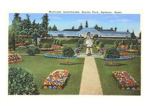 Municipal Greenhouses, Spokane, Washington