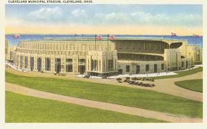 Municipal Stadium, Cleveland, Ohio