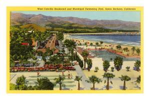 Municipal Swimming Pool, Santa Barbara, California