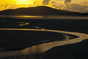 Luskentyre Sand Banks in the Sound of Taransay, South Harris, Outer Hebrides, Scotland, UK, June by Muñoz