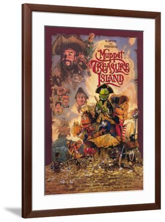 Muppet Treasure Island--Framed Poster