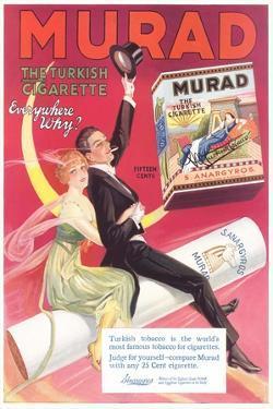Murad Turkish Cigarette Advertisement