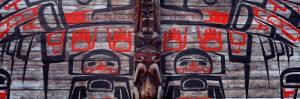Mural on a Wall, New Hazelton, British Columbia, Canada