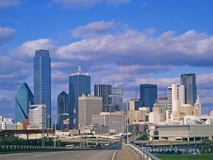 Dallas Skyline by Murat Taner