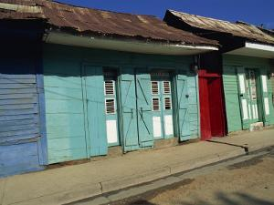 Typical Housing in the Town of Cap Haitien, Haiti, West Indies, Caribbean, Central America by Murray Louise