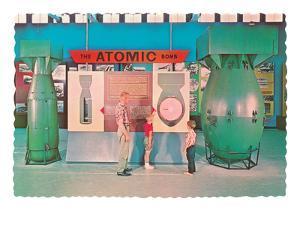Museum Display of Atomic Bombs