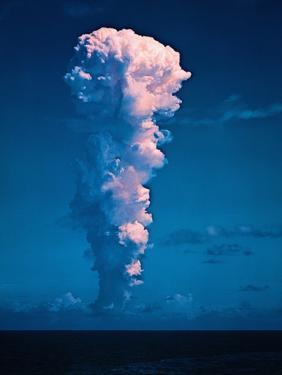 Mushroom Cloud from Atom Bomb Test
