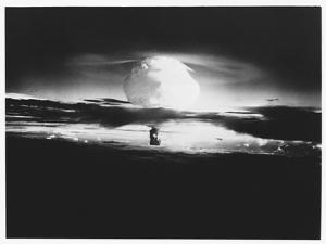 Mushroom Cloud from Hydrogen Bomb
