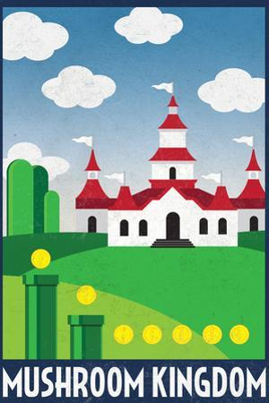 Mushroom Kingdom Retro Travel
