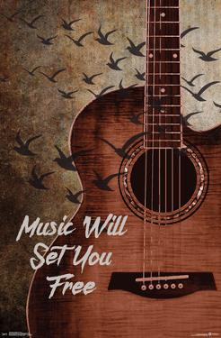 MUSIC WILL SET YOU FREE
