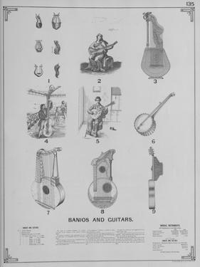 Musical Instruments - Banjos and Guitars