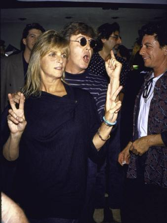 Musician Paul Mccartney and Wife Linda