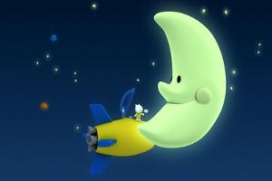 Musti on the Moon by Musti