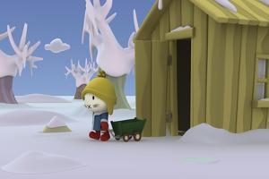 Snowman 8 by Musti