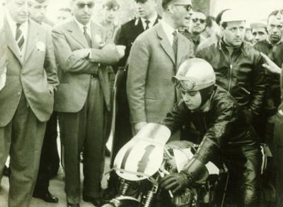 MV Agusta Motorcycle Rider