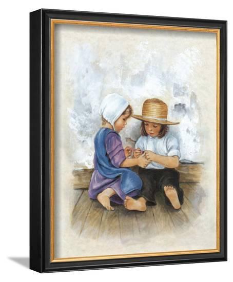 My Best Friend I-Ferdinand Hodler-Framed Art Print