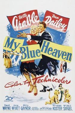 My Blue Heaven, Betty Grable, Dan Dailey, 1950