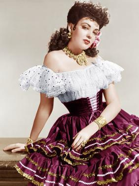 MY DARLING CLEMENTINE, Linda Darnell, 1946.