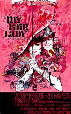 My Fair Lady, Belgian Movie Poster, 1964