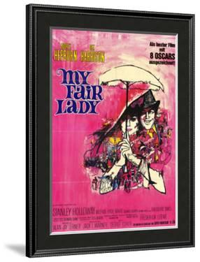 My Fair Lady, German Movie Poster, 1964