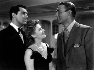 My Favorite Wife, Cary Grant, Irene Dunne, Randolph Scott, 1940