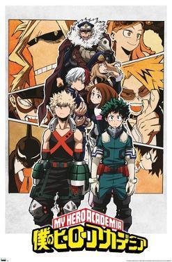 My Hero Academia - Characters