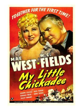 My Little Chickadee, Mae West, W.C. Fields, 1940