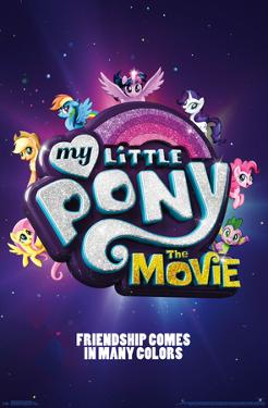 MY LITTLE PONY MOVIE - ONE SHEET