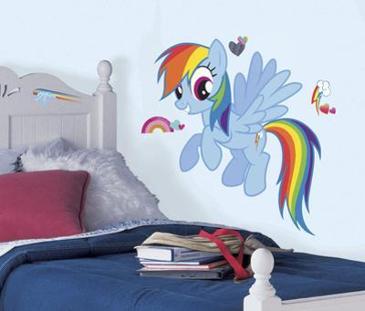 My Little Pony - Rainbow Dash Peel and Stick Giant Wall Decal