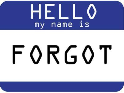 My Name Is Forgot