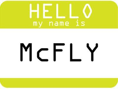My Name Is Mcfly