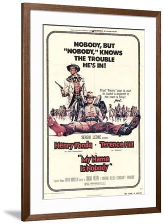 My Name is Nobody--Framed Poster