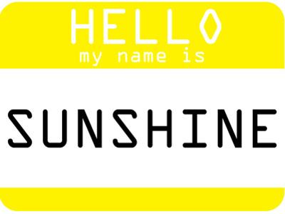 My Name Is Sunshine