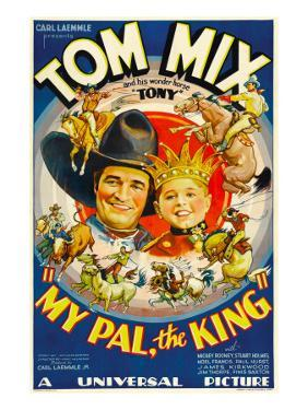 My Pal, the King, Tom Mix, Mickey Rooney, 1932