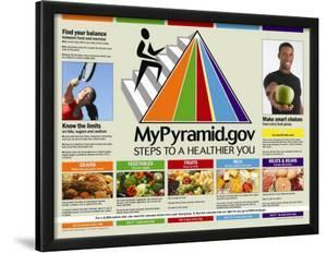 My Pyramid: Steps to a Healthier You