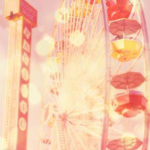 Carnival Lights on a Big Wheel by Myan Soffia