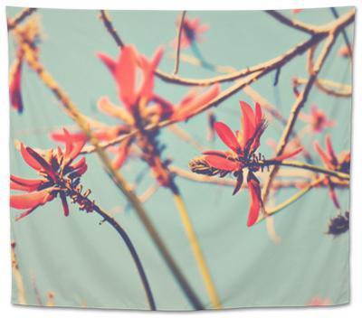 Flowers in Bloom on a Tree by Myan Soffia